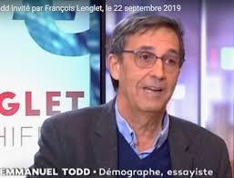 France / Emmanuel Todd invité par François Lenglet