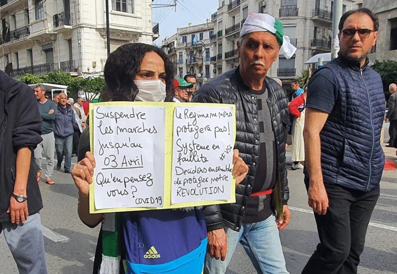 Algérie / Hirak et Coronavirus : Appels à «une trêve sanitaire»