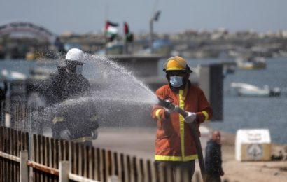 Palestine / Gaza confiné: Des avions israéliens répandent des pesticides toxiques sur les terres agricoles !