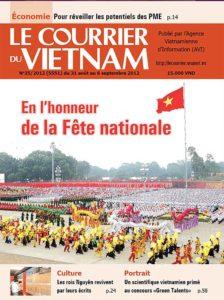 courrier vietnam une