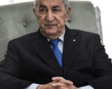 Le président algérien exclut le recours au FMI malgré la chute du pétrole