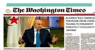 Le W.Times avait prédit une riposte de médias dérangés par la démarche du président Tebboune