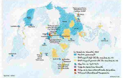 La guerre et le droit, inventaire cartographique