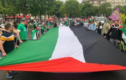 «Stop annexion»: des manifestants à Paris dénoncent les plans israéliens d'annexer des pans de la Cisjordanie – images
