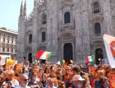 «Nous voulons la révolution en Italie»: après les Gilets jaunes, les Gilets oranges
