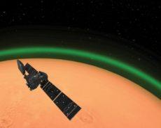 Une lueur verte repérée pour la première fois autour de Mars… et d'une autre planète que la Terre
