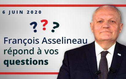 France / François Asselineau, président de l'UPR, répond à vos questions