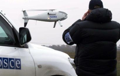 RP Donbass – L'Armée Ukrainienne tire sur des caméras et un drone de l'OSCE