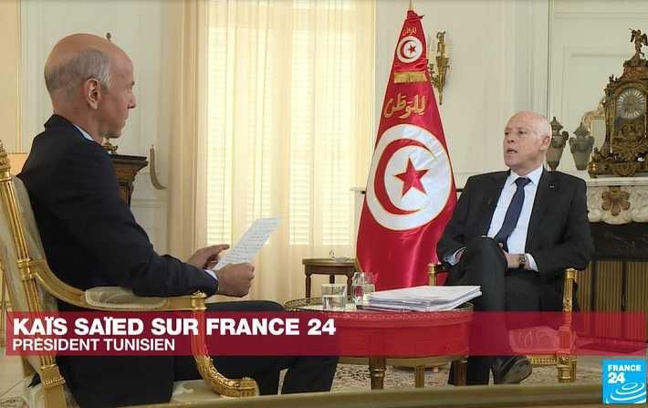 Le président Saied critique les ingérences étrangères en Tunisie et en Libye