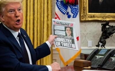 Le président Trump rétablit la neutralité des services internet