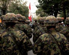 La Suisse entame le processus de militarisation