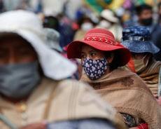 Bolivie : manifestation à La Paz contre le gouvernement de la présidente par intérim Jeanine Anez