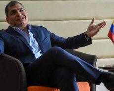 Rafael Correa: «Ils sont en train de détruire la démocratie en Équateur»