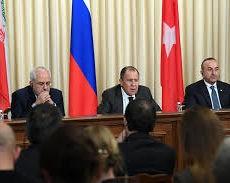 La Russie, l'Iran et la Turquie adoptent une déclaration commune sur la Syrie