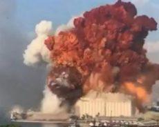 Explosions d'hier et d'aujourd'hui…