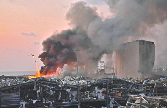 L'explosion de Beyrouth : L'étrange comparaison (+vidéos)