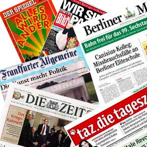 Allemagne / Quand l'opinion supplante l'information