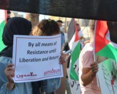 Soutenir la lutte palestinienne sous toutes ses formes