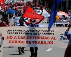 Manifestation au Panama : « Les travailleurs ne peuvent pas porter le fardeau de la crise COVID-19 »