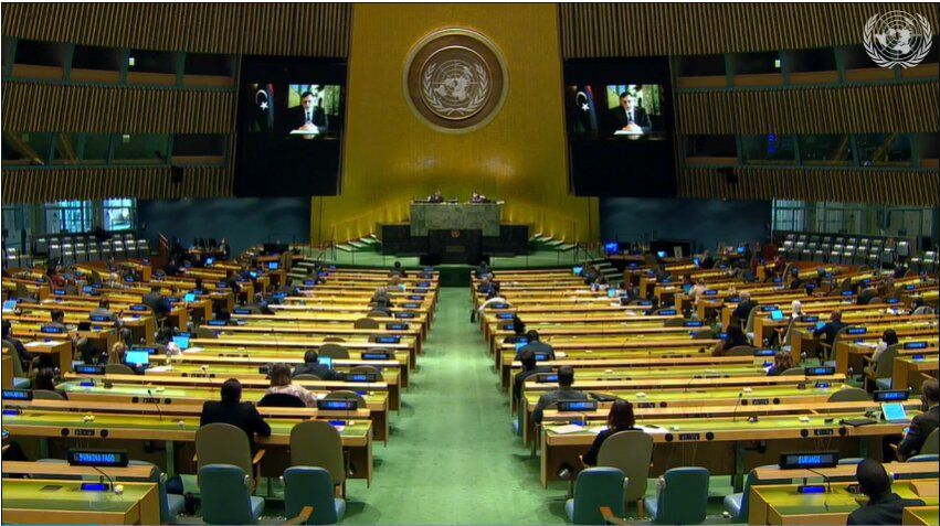 Libye – Débat général, 75e session AG de l'ONU
