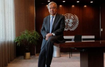 «Personne ne veut d'un gouvernement mondial», déclare Antonio Guterres à l'ONU