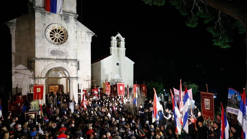 Au Monténégro, l'Eglise orthodoxe serbe face à la persécution de l'Etat
