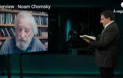 La Grande Interview : Noam Chomsky