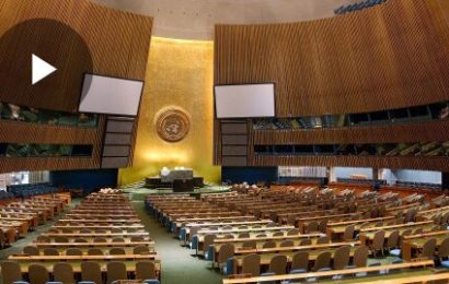 ONU / Calendrier des séances plénières de l'Assemblée générale et des réunions connexes 75e session