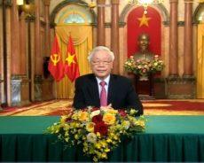 Viet Nam – Le Président prononce un discours lors du débat général, 75e session AG de l'ONU