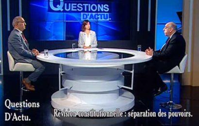 Algérie / Question d'Actu : La séparation des pouvoirs dans le projet de Constitution