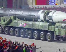 Ce que l'on sait du nouveau missile nord-coréen géant