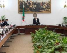 Algérie / Communiqué du Conseil des ministres