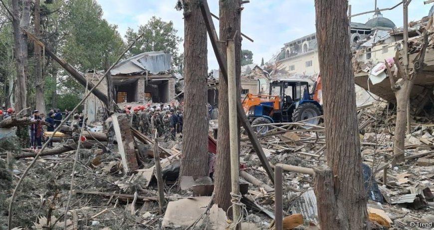 Le bombardement de la deuxième plus grande ville d'Azerbaïdjan met fin au cessez-le-feu et annonce une escalade illimitée