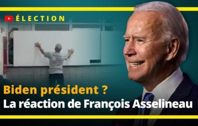 Biden président ? La réaction de François Asselineau