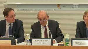 France / Audition de Jean-Yves Le Drian par la Commission des affaires étrangères de l'Assemblée nationale