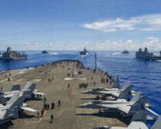 Mer de Chine méridionale : Sous Trump, une augmentation considérable du nombre de Porte-avions et de Destroyers américains