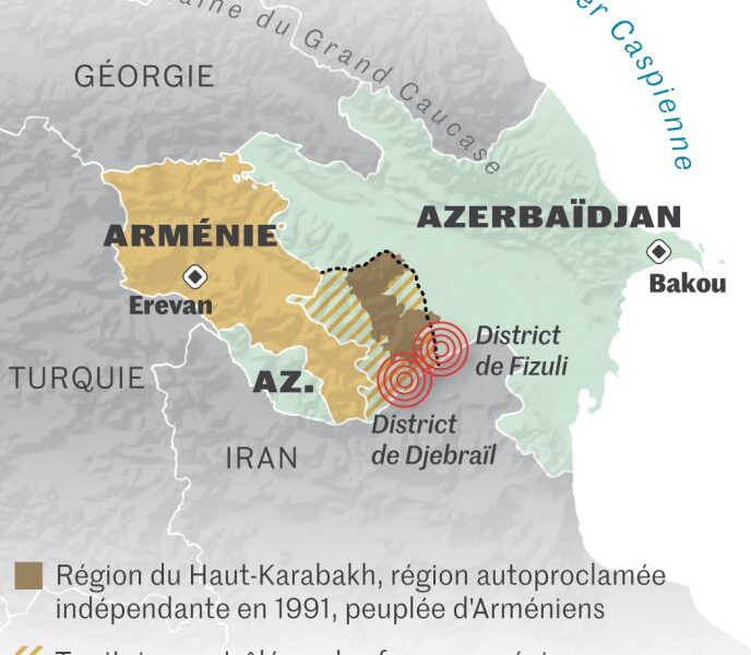 Haut-Karabagh : L'accord de paix entre l'Arménie et l'Azerbaïdjan et ses conséquences