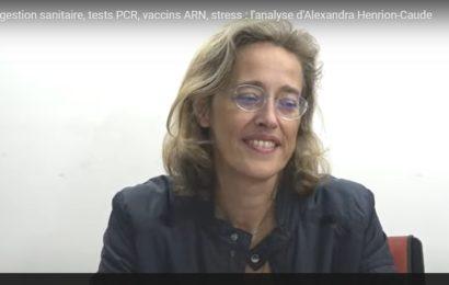 Entretiens avec la généticienne Alexandra Haurion-Caude et le Pr. Raoult (vidéos)