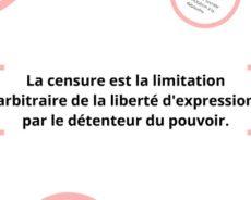 L'arbitraire et la censure sont de retour en Occident