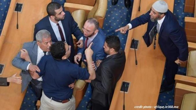 Tunisie : Violente bagarre au parlement entre députés d'Al Karama et d'Attayar