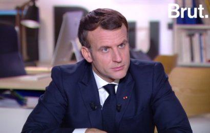 France / Le président de la République Emmanuel Macron répond à Brut (REPLAY)