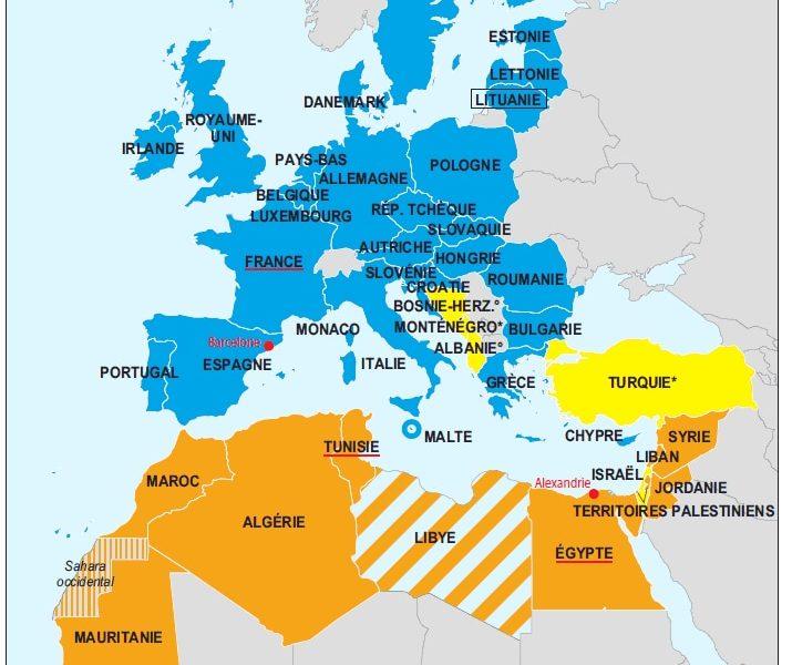 Espace euro-méditerranéen et Africain