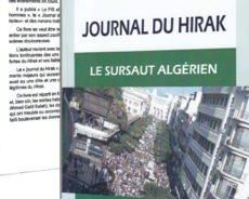 Algérie / Journal du Hirak : un livre à lire et à faire lire