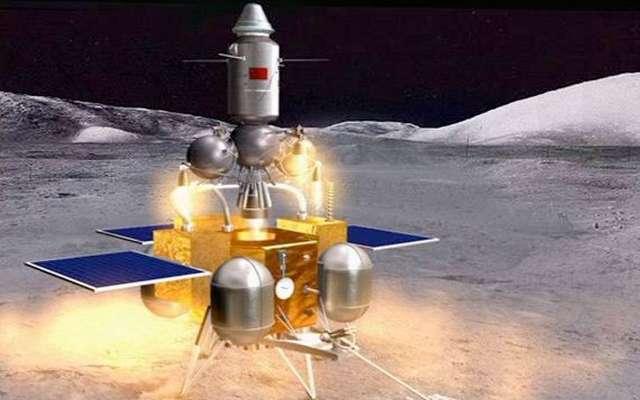 Chine / Des images à couper le souffle de la Lune prises cette nuit par Chang'e 5