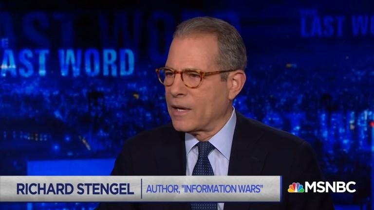 Nommé par Biden, Richard Stengel est un ancien « chef propagandiste » partisan d'une propagande aux États-Unis