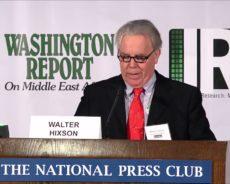 Dr. Walter L. Hixson : « Israël est incontestablement un régime d'apartheid »
