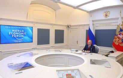 Discours de Vladimir Poutine au Forum de Davos 2021 – L'homme ne doit pas être un moyen, mais un but de l'économie
