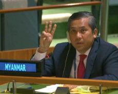 L'ambassadeur de Birmanie à l'ONU rompt spectaculairement avec la junte