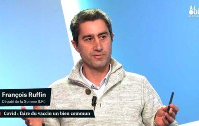 France / François Ruffin : « Si les labos ne veulent pas céder les brevets, on les prend ! »
