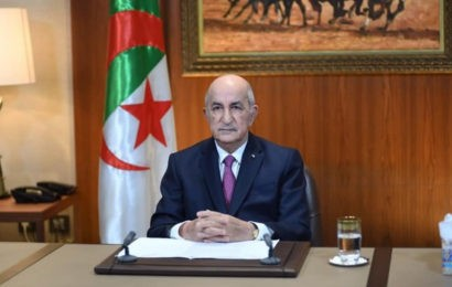Algérie / Président Tebboune: le changement radical passe par un changement des institutions